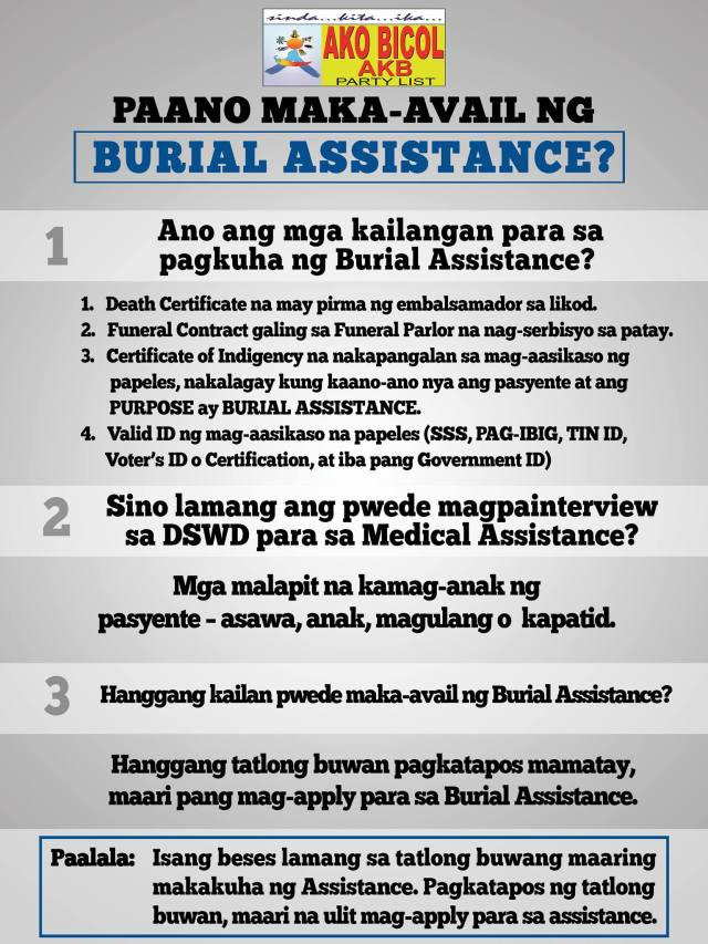Burial Assistance