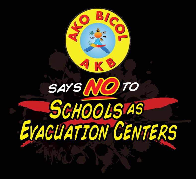 Schools as Evacuation center-01
