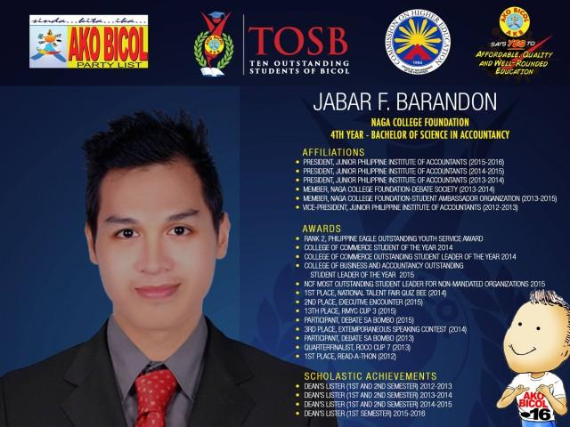 Jabar Barandon
