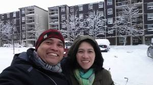 Alvin Daet with Wife Imelda Daet - Canada