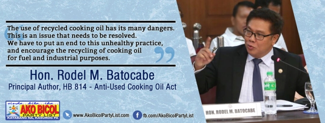 HB 814 Used Cooking Oil
