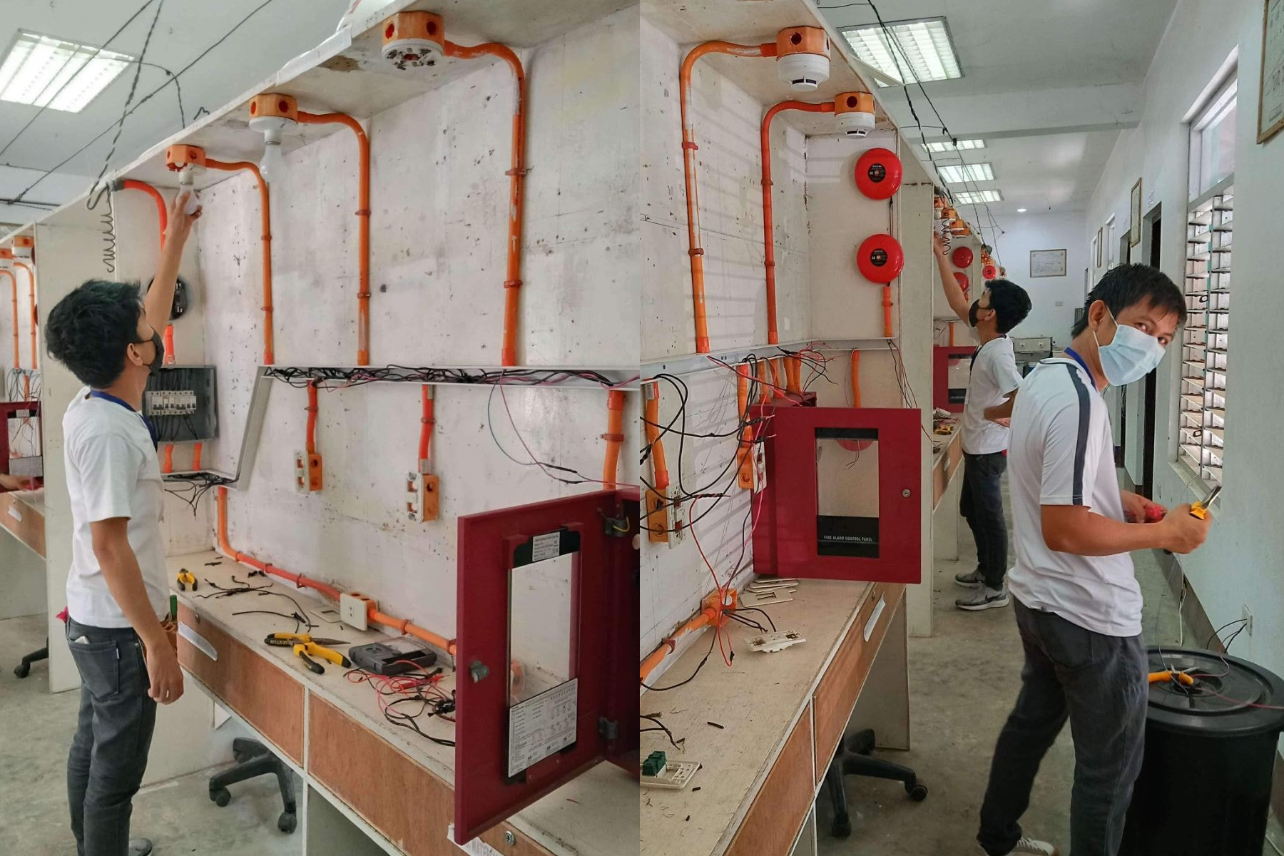 Ako Bicol PartyList conducted a Competency Assessment of Trainees in Masbate Central Technical Institute in Masbate City. This assessment is for the trainees of Electrical Installation and Maintenance NC II under the Special Training for Employment Program last January 23-24, 2021.